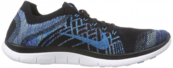 Nike Free Flyknit 4.0 men blu (blau (black/blue lagoon-game royal 004))