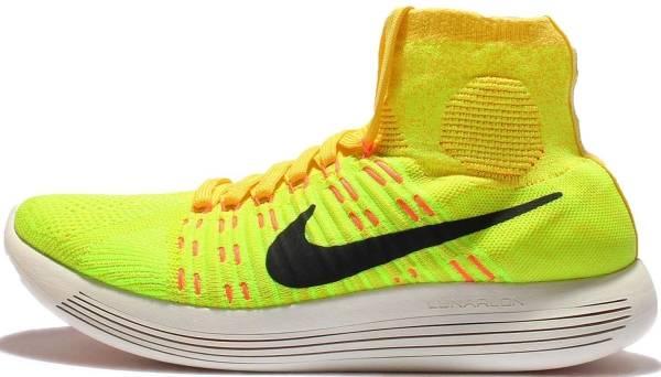 Nike LunarEpic Flyknit - Yellow Strike/Black/Volt/Hyper Orange