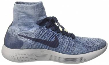 Nike LunarEpic Flyknit - Turchese Indigoobsidianwolf Grey (940804400)