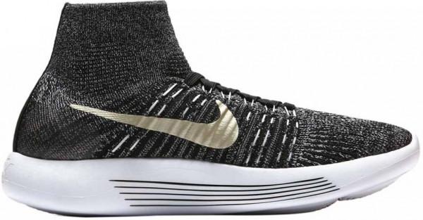Nike LunarEpic Flyknit men black / metallic gold star / white