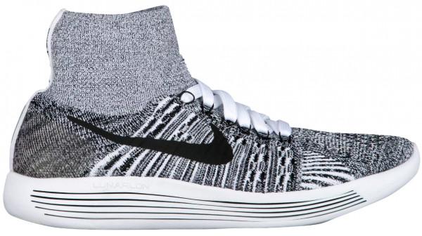 Nike LunarEpic Flyknit men white/black