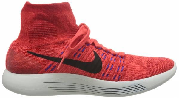 Nike LunarEpic Flyknit men red / black / orange (university red / black-ttl crmsn)