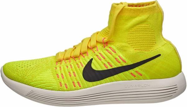 Nike LunarEpic Flyknit woman yellow strike/black-volt-hyper orange