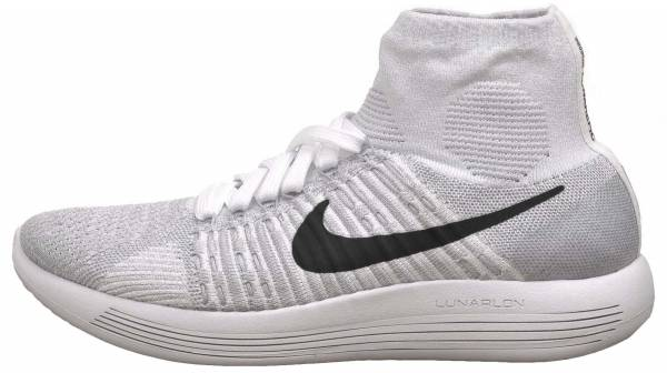 Nike LunarEpic Flyknit woman white