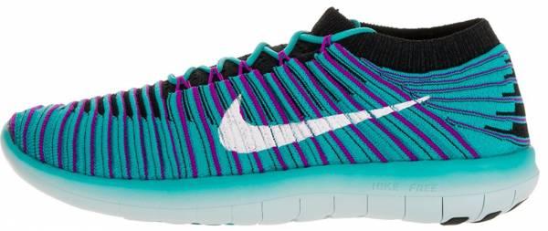Nike Free RN Motion Flyknit woman pink/blue