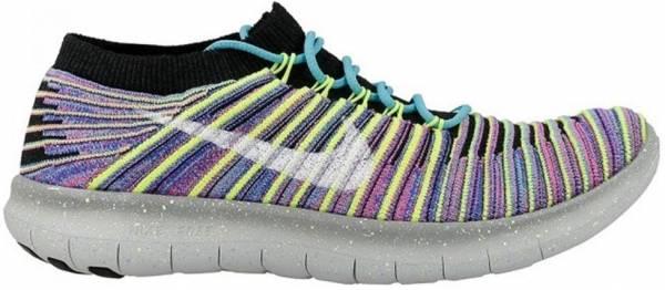 Nike Free RN Motion Flyknit woman black