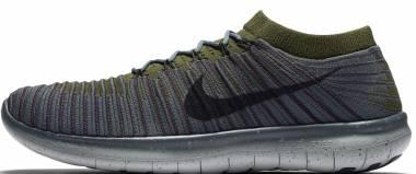 Nike Free RN Motion Flyknit - blauw (834584403)