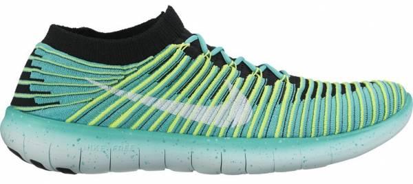 Nike Free RN Motion Flyknit woman green
