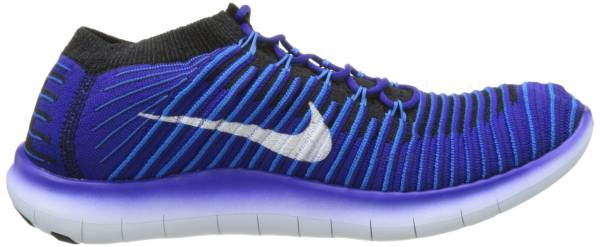Nike Free RN Motion Flyknit men blau (concord/white photo blue black)