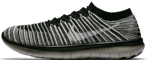 Nike Free RN Motion Flyknit men black/sail/pale grey/sail