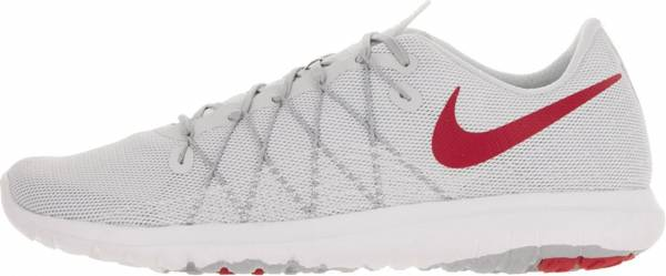 Nike Flex Fury 2 men white/unvrsty rd wlf gry pr pl