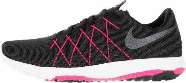 Nike Flex Fury 2 woman black/hyper pink/anthracite/metallic hematite