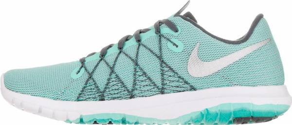 Nike Flex Fury 2 woman hypr trq/mtllc slvr wlf gry dr