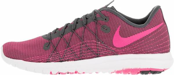 Nike Flex Fury 2 woman dark grey/white/pink blast