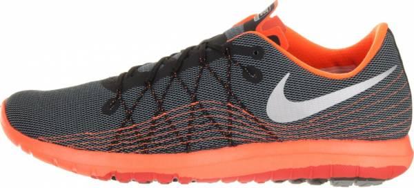Nike Flex Fury 2 men black/cool grey/total orange/metallic silver