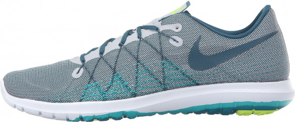 Nike Flex Fury 2 men wolf grey/midnight turquoise/real teal/clear jade