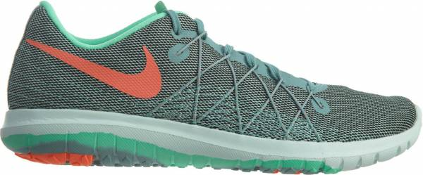 Nike Flex Fury 2 woman cannon/ green/green