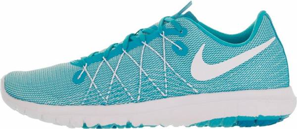 Nike Flex Fury 2 woman white/blue lagoon//gamma blue