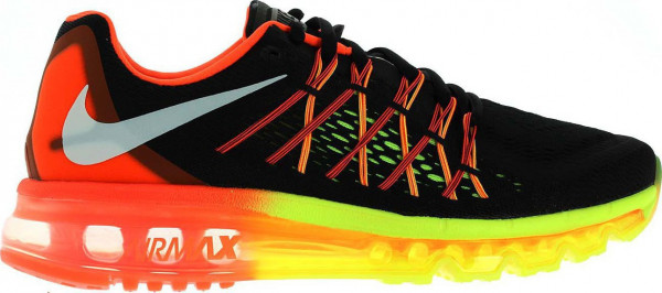 Nike Air Max 2015 Men's Running Shoes Black