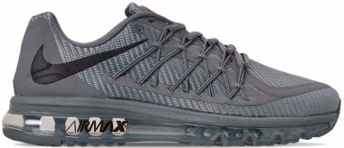 Nike Air Max 2015 - Cool Grey/Black/Bright Crimson (CN0135002)