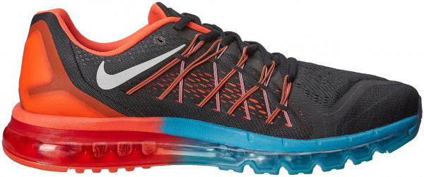 Nike Air Max 2015 Mens/Womens Black/Red/Blue Shoes