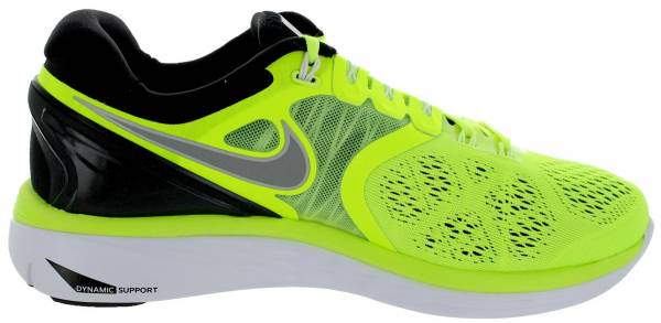 Comfortable 211575 Nike Lunareclipse 4 Men Grey Black Yellow Shoes