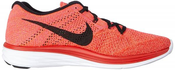 Nike Flyknit Lunar 3 men rot (university red/black-bright crimson 602)