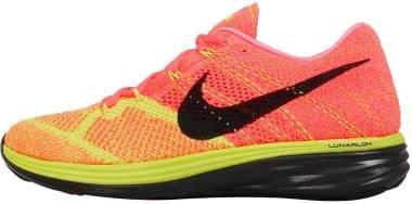 Nike Flyknit Lunar 3 - Hot Lava/Black-volt-lsr Orange (698181800)