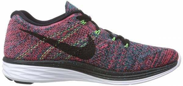Nike Flyknit Lunar 3 men radiant emerald/black