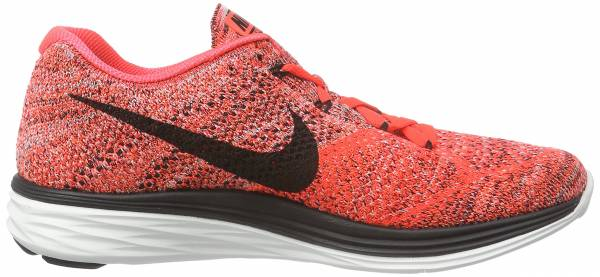 Nike Flyknit Lunar 3 men bright crimson/hyper orange/summit white/black