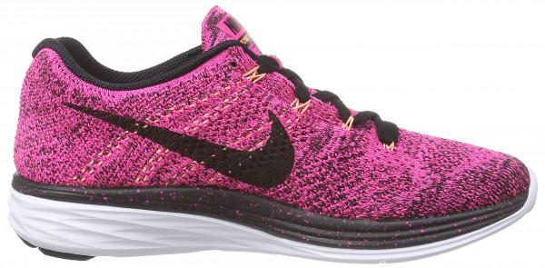 Nike Flyknit Lunar 3 woman pink foil/black-pink pow