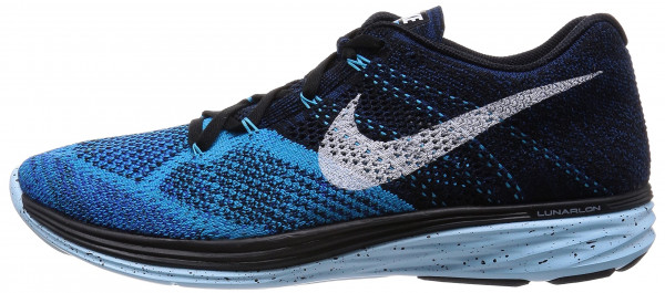 Nike Flyknit Lunar 3 men black/white-black lagoon-ic cb black
