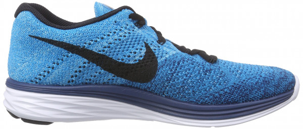 Nike Flyknit Lunar 3 men blue