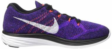 Nike Flyknit Lunar 3 Purple Men