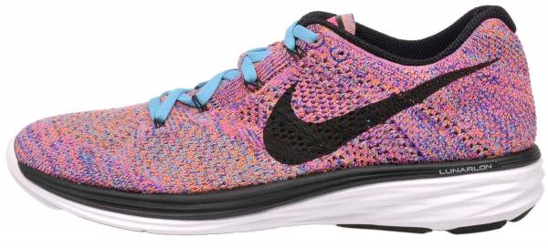 Nike Flyknit Lunar 3 woman concord/gamma blue/total orange/black