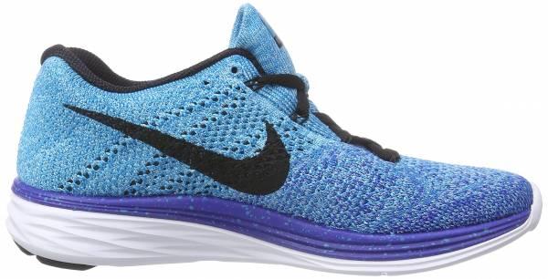 Nike Flyknit Lunar 3 woman azul - blau (gm royal/blk-n trq-unvrsty bl 403)