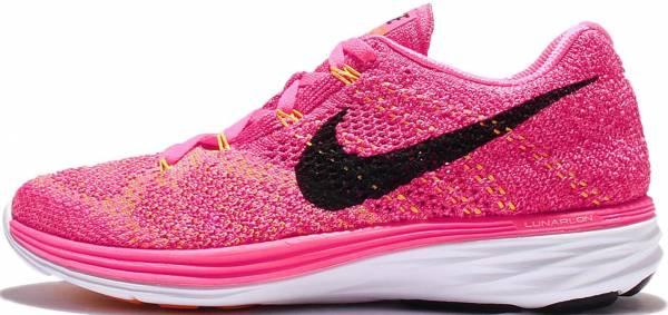 Nike Flyknit Lunar 3 woman pink blast/fireberry/laser orange/black