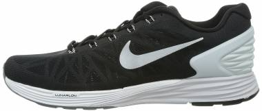 Nike LunarGlide 6 - Black / White / Pr Platinum / Cl Grey