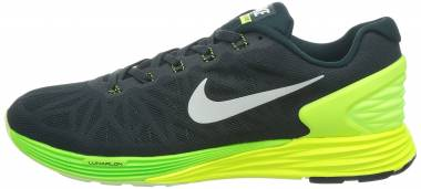 Nike LunarGlide 6 - Seaweed / White / Volt / Electric Green