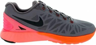 Nike LunarGlide 6 - VIOLET ORE/BLACK-HYPER CRIMSON (654434201)