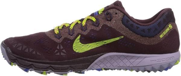 Nike Zoom Terra Kiger 2 - Deep Burgundy Fierce Green Purple Steel
