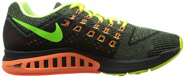 Nike Air Zoom Structure 18 volt hyper crimson black electric green 700