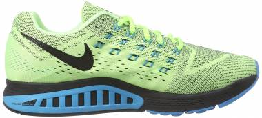 sports shoes 7b0be 52b18 Nike Air Zoom Structure 18 Ghost Green Black Blue Lagoon Men