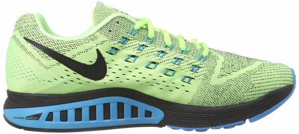 best service 7f69c 87865 Nike Air Zoom Structure 18 Ghost Green Blk-bl Lgn-gm Ryl