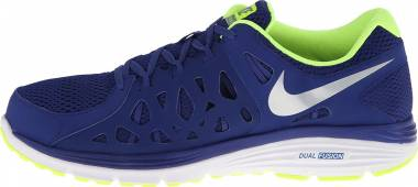 Nike Dual Fusion Run 2 - Deep Royal Blue/Volt/White/Metallic Silver