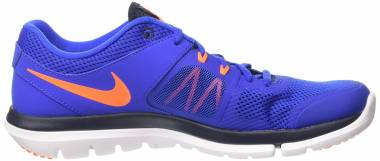 Nike Flex Run 2014 - Royal Orange Fluo Wht (642800406)