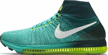 Nike Air Zoom All Out Flyknit - Green (844134313)