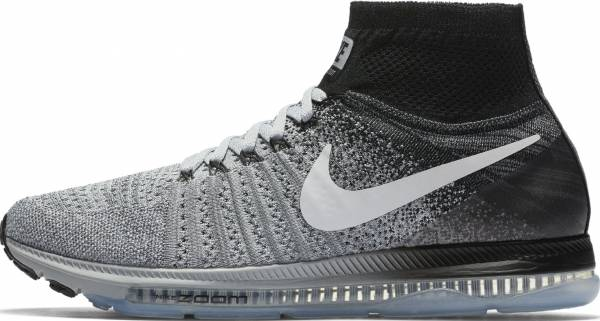 Nike Air Zoom All Out Flyknit - Wolf Grey/White-black (844134003)