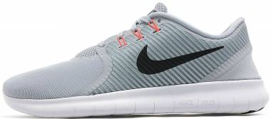 Nike Free RN CMTR - Grey (Wolf Grey/Total Crimson/Cool Grey/Black)