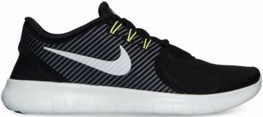 Nike Free RN CMTR Black/Off White-dark Grey-volt Men